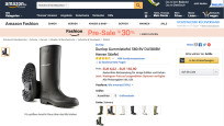Gummistiefel © Screenshot Amazon