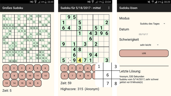 Sudoku Tages