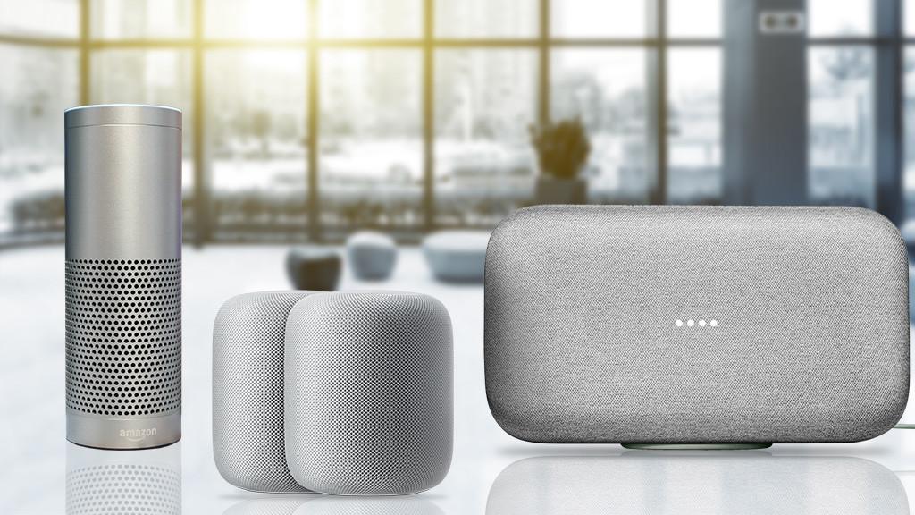 google home max vs apple homepod vs amazon echo plus. Black Bedroom Furniture Sets. Home Design Ideas