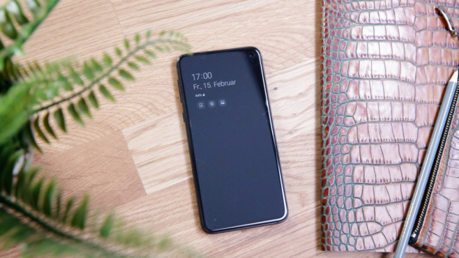 Samsung Galaxy S10e ©COMPUTER BILD