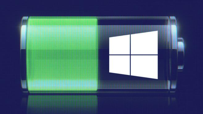 Windows mit Energiespareinstellungen nutzen ©Microsoft, ©istock.com/pearleye
