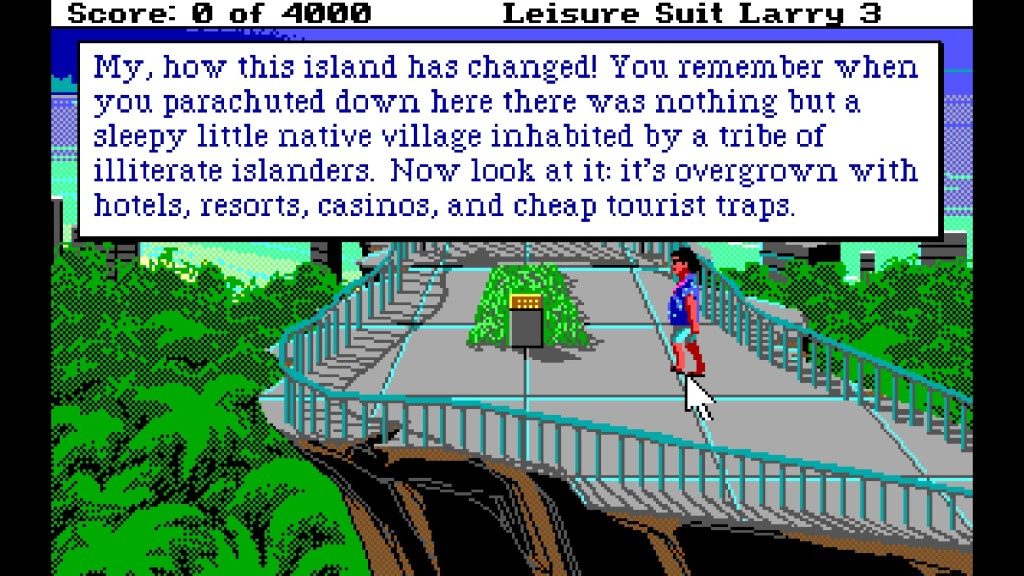 Screenshot 1 - Leisure Suit Larry 3: Passionate Patti in Pursuit of the Pulsating Pectorals