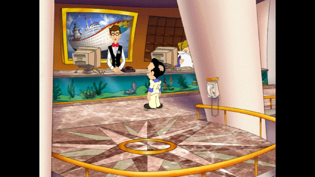 Screenshot 1 - Leisure Suit Larry 7: Love for Sail