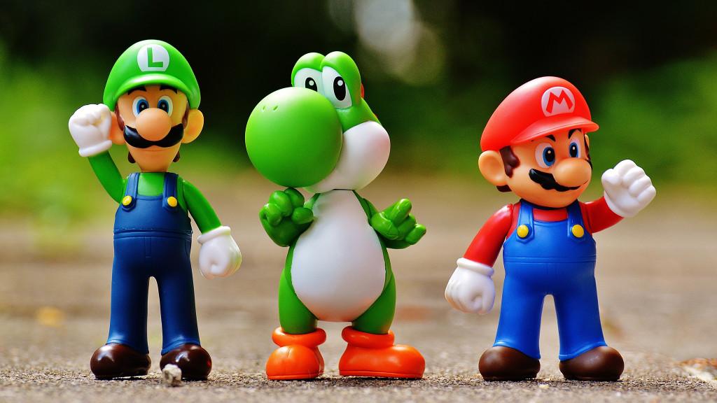 Luigi, Yoshi, Mario©Pexels