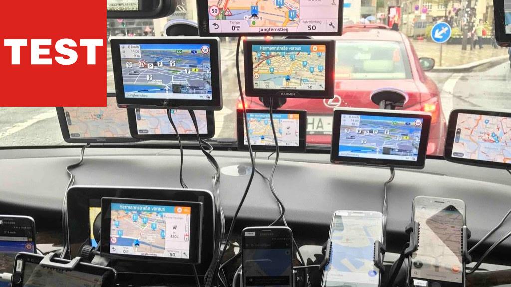 Stollen statt Stau: Navi-Apps und -Geräte im Test