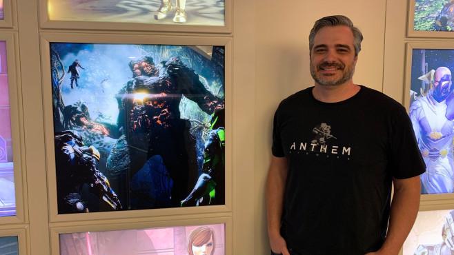 """Anthem: Das sind die Systemanforderungen für PC Ben Irving, der Lead Producer von """"Anthem"""", gab COMPUTER BILD SPIELE ein Interview.©COMPUTER BILD"""