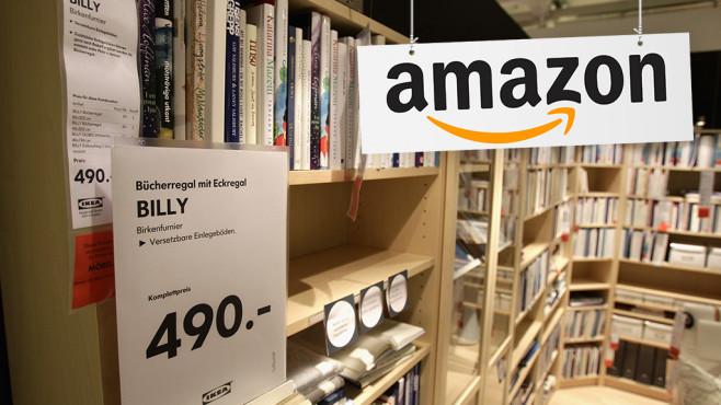 Ikea: Gibt es Billy & Co. bald auch bei Amazon? Das sind die Amazon-Bestseller: COMPUTER BILD stellt die 50 Technik-Hits des vergangenen Monats vor.©Amazon, Andreas Rentz / Getty images