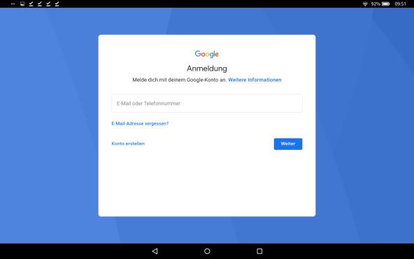 Google Play Store auf Amazon Fire Tablet installieren ©COMPUTER BILD