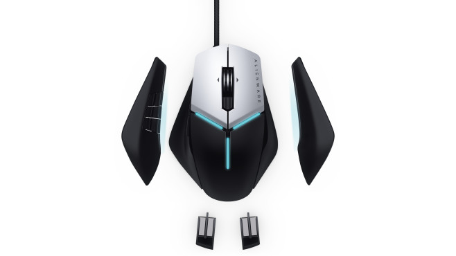 Alienware Advanced Gaming Mouse AW558 und AW958 ©Dell