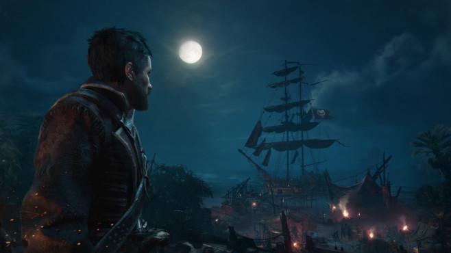 Skull & Bones: Fette Beute auf hoher See Wie in einem Rollenspiel wird der Spieler nach erfolgreichen Beutezügen mit Erfahrungspunkten belohnt und steigt langsam vom Underdog der Meere bis zum König der Piraten auf.©Ubisoft