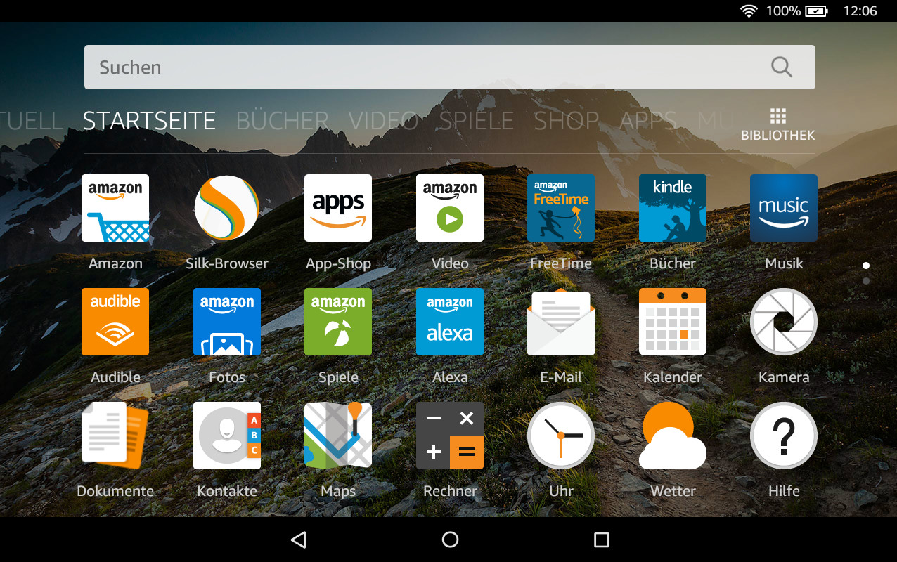 Screenshot 1 - Google Play Store für Amazon-Fire-Tablets (APK)