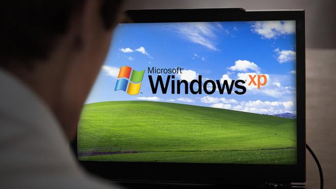 Windows XP©Microsoft, Matt Cardy/gettyimages