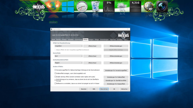 Apple-Dock unter Windows nutzen ©COMPUTER BILD