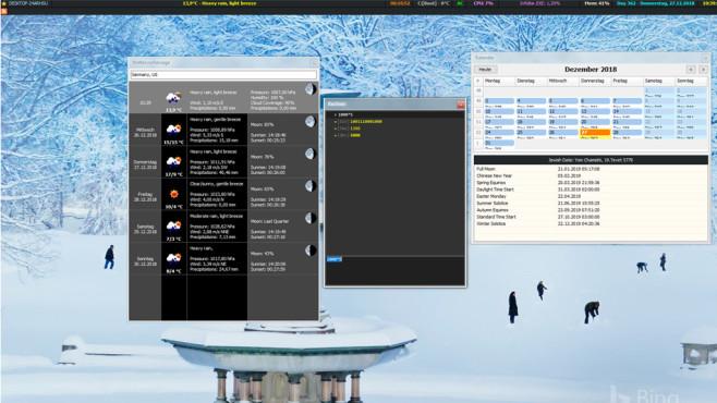 Desktop-Toolbar für RSS-Feeds ©COMPUTER BILD