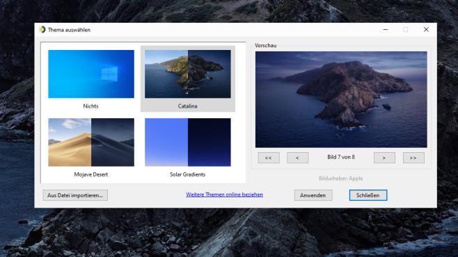 Dynamischer Desktop-Hintergrund für Windows ©COMPUTER BILD