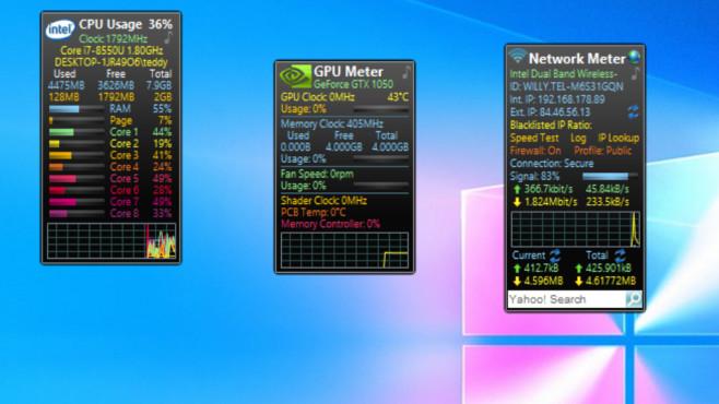PC-(CPU-)Auslastung im Auge behalten ©COMPUTER BILD