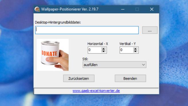 Spiegelverkehrte Desktop-Wallpaper aktivieren ©COMPUTER BILD