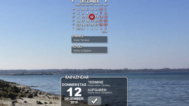 Terminkalender für anstehende Aufgaben ©COMPUTER BILD
