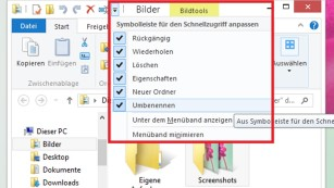 Windows 8/10: Titelleiste ändern © COMPUTER BILD