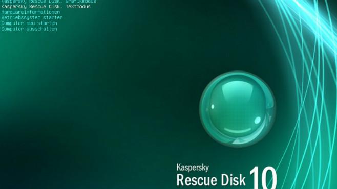 Gegenwehr: Kaspersky Rescue Disk ©COMPUTER BILD