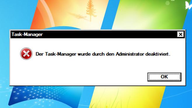 Gegenwehr: Task-Manager freischalten ©COMPUTER BILD