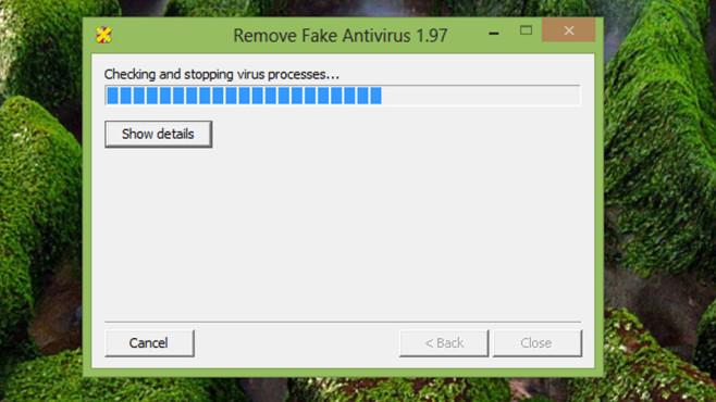 Malware-Check: Falsche AV-Meldungen ©COMPUTER BILD