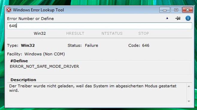 Malware-Check: Fehlermeldungen ©COMPUTER BILD
