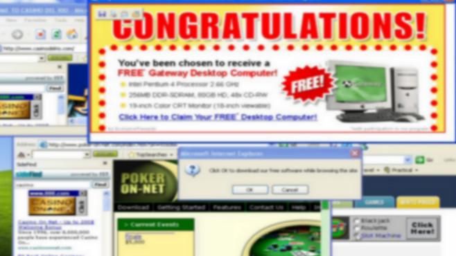 Malware-Check: Werbung in Desktop und Browser ©COMPUTER BILD