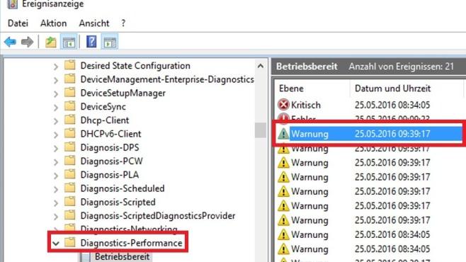 Malware-Check: Zeitpunkte des Hochfahrens ©COMPUTER BILD