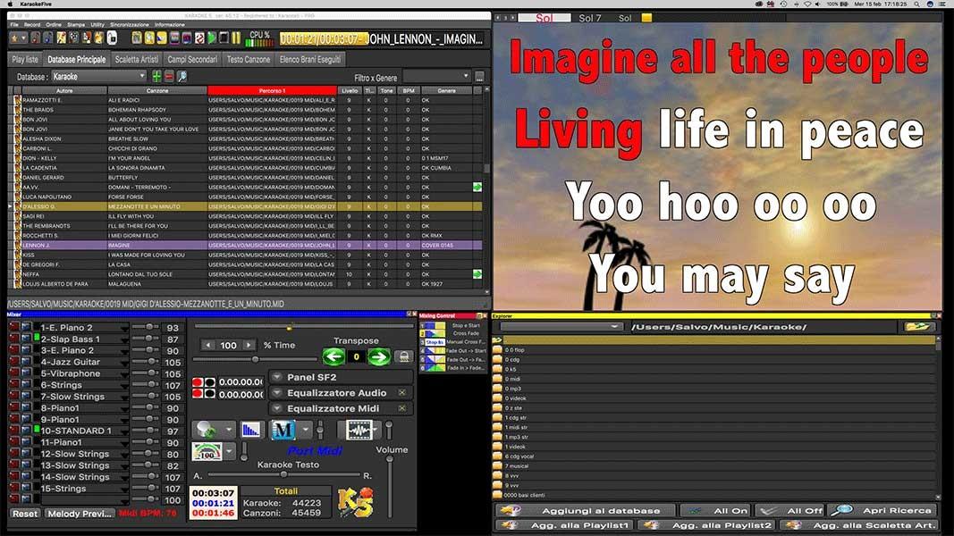 Screenshot 1 - Karaoke 5 (Mac)