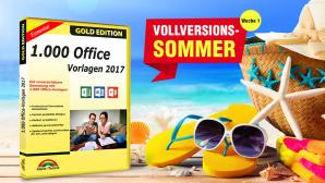 Vollversions-Sommer: 1.000 Office Vorlagen©Romolo Tavani-Fotolia.com, Markt & Technik