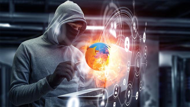 Firefox-Sicherheitslücke©Mozilla, Sergey Nivens-Fotolia.com