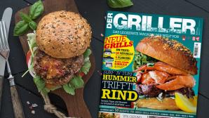 DER GRILLER: Die Sommer–Ausgabe ist da! Die neue Ausgabe von DER GRILLER ist ab sofort im Zeitschriftenhandel erhältlich.©COMPUTER BILD, ©istock.com/Foxys_forest_manufacture