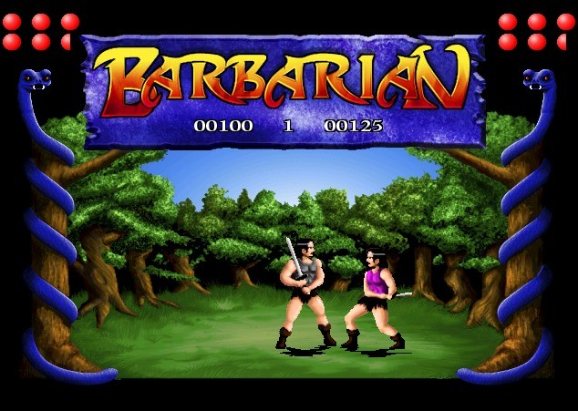 Screenshot 1 - Barbarian