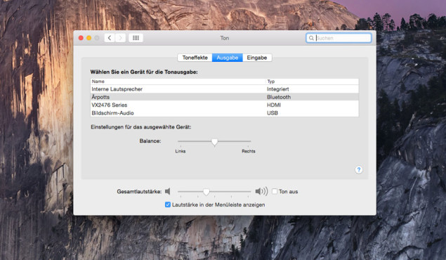 AirPods am Mac nutzen ©COMPUTER BILD