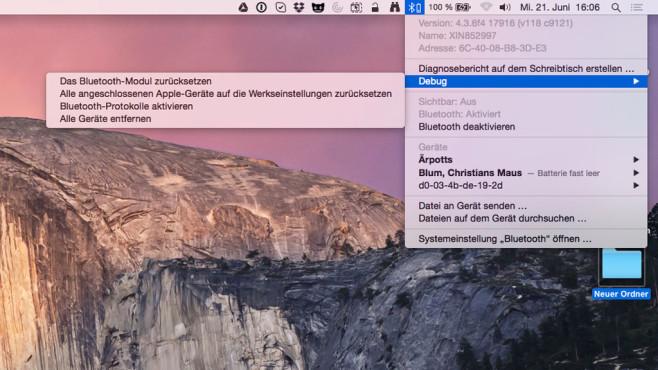 Bluetooth-Probleme am Mac beheben ©COMPUTER BILD