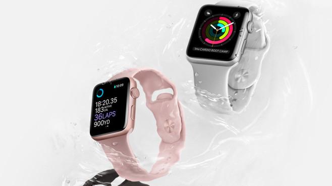 Für Apple Watch: Ladestand prüfen ©Apple