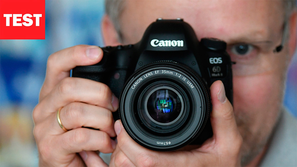 Vollformat-DSLR im Test: Canon EOS 6D Mark II - AUDIO VIDEO FOTO BILD