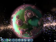 Grenzenlose Weiten: Nachdem Sie in Spore Ihren Heimatplaneten zur Hochzivilisation geführt haben, machen Sie sich auf den Weg zu fernen Galaxien, um diese zu besiedeln.