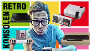 Retro-Konsolen©lassedesignen – Fotolia.com / Nintendo / Gamerz Tek / Analogue / retro-bit / Atari / Koch Media
