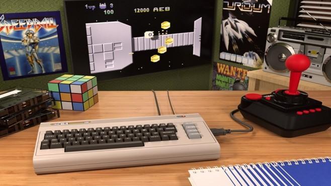 Retro-Konsolen: Die besten Remakes Der C64 Mini wird von Koch Media vertrieben.©Koch Media, C64