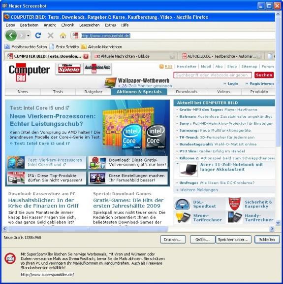Screenshot 1 - SimpleScreenshot