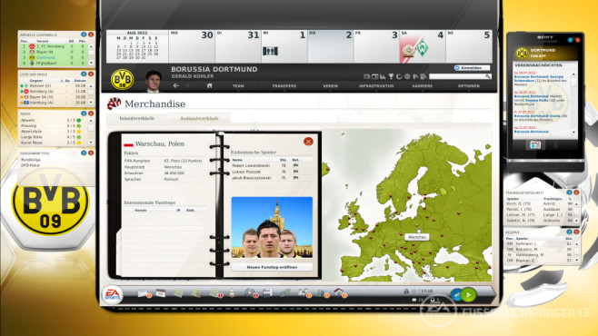 FIFA Fußball Manager: Dortmund©Electronic Arts