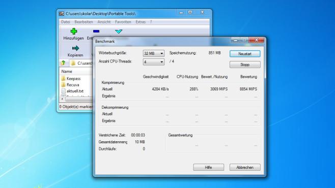 7-Zip – Datei-Management ©COMPUTER BILD