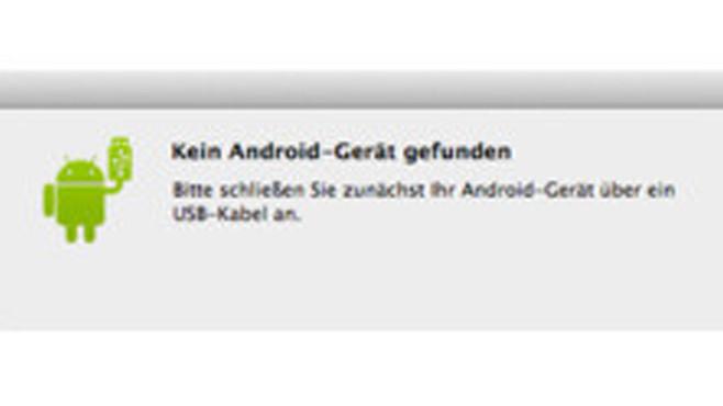Android File Transfer (Mac) – Daten synchron halten ©COMPUTER BILD