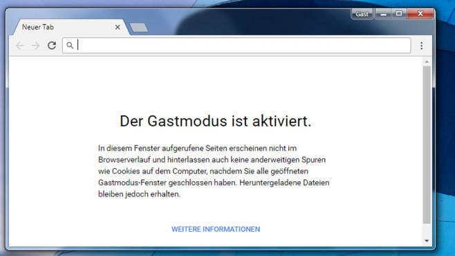 Google Chrome – schnellster Browser ©COMPUTER BILD