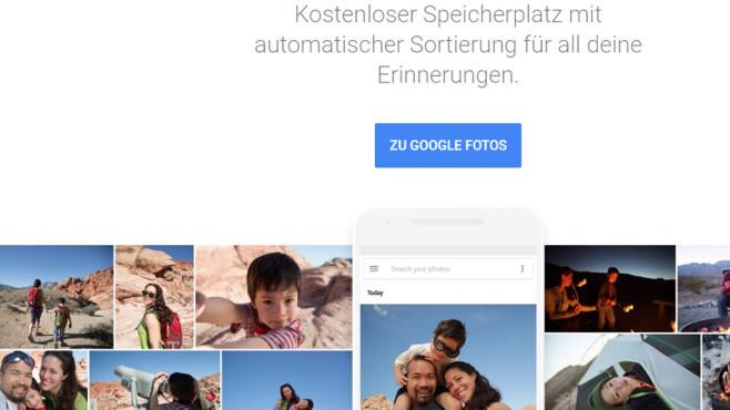 Google Fotos – Bildbearbeitung ©COMPUTER BILD