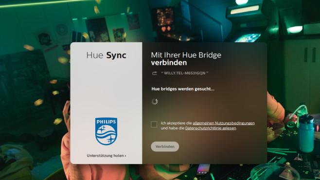 Phillips Hue Sync – Smart Home ©COMPUTER BILD