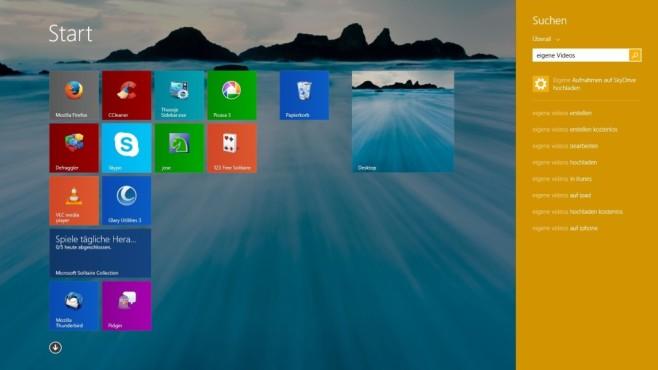 Windows 8.1 – Betriebssysteme ©COMPUTER BILD
