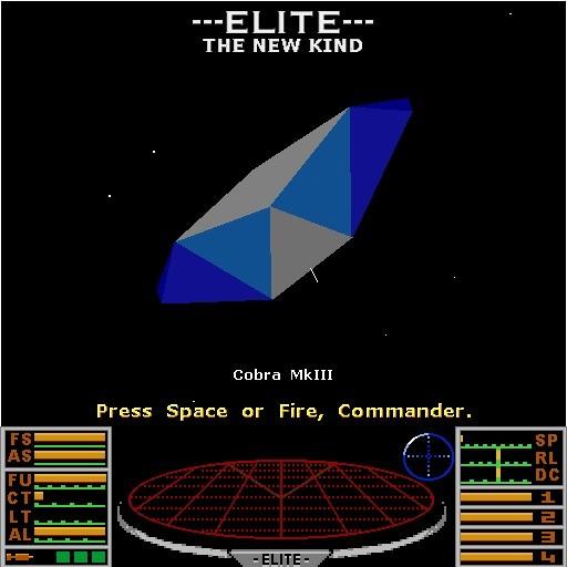 Screenshot 1 - Elite: The New Kind